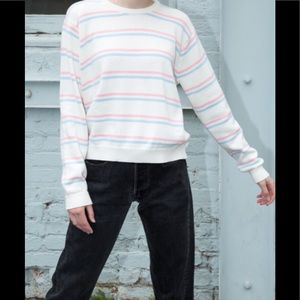 Brandy Melville striped bronx sweater